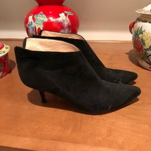 Christian Louboutin suede bootie size 36.5 Black